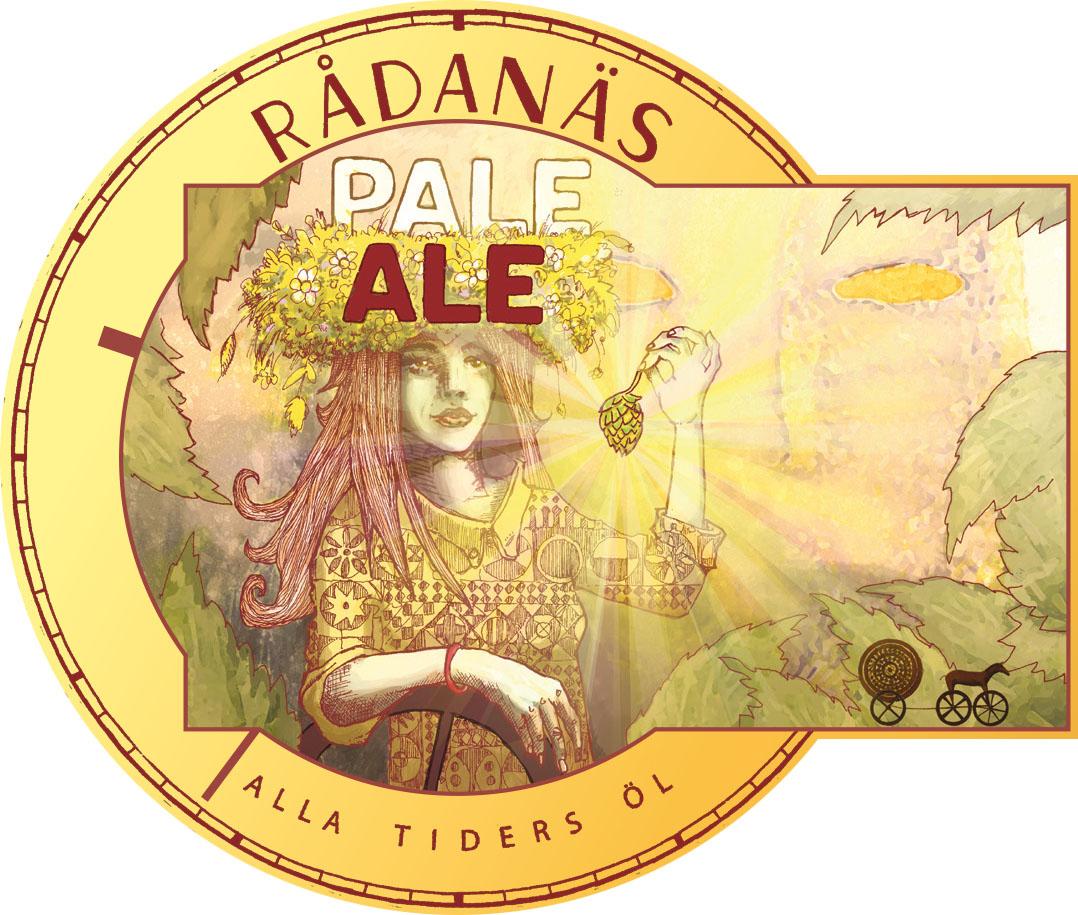 Etikett av Pale Ale 5,2%